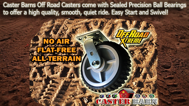 off road casters and all terrain casters from casterhq
