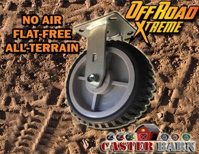 All Terrain 8 RIGID Caster Flat Free
