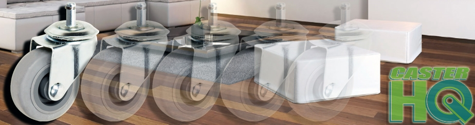 Hardwood Floor Chair Caster Section